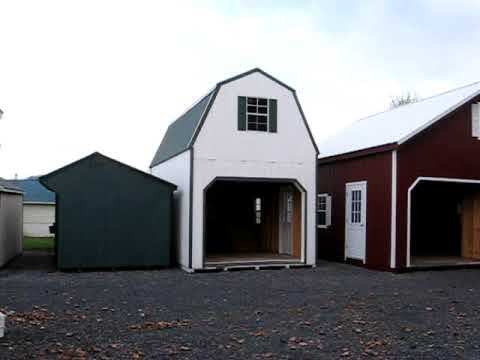2 Story Garages 2 Story Sheds Two Story Barns Virginia