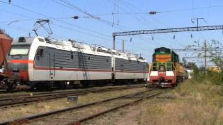 Поезда с Украины Белгород-Днестровский 2011.jul.29