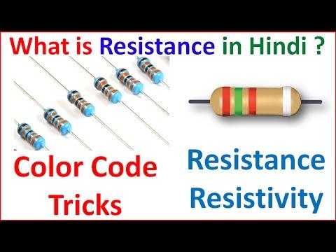 What is Resistance in Hindi - प्रतिरोध क्या होता है Colour Code से Resistance की Value कैसे निकालते