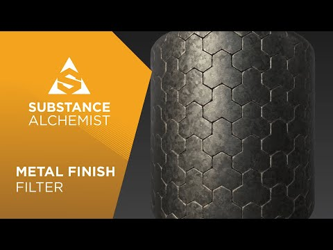Metal Finish Filter in Project Substance Alchemist