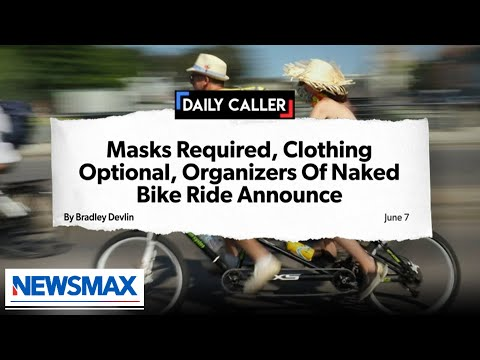 """Nude bikers still have to wear masks: The """"pandemic of stupidity"""""""