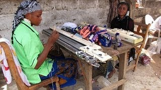 Brother Knitting Machine in Kara Togo Creates Self Employed Micro Entrepreneurs