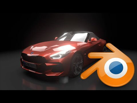 Blender Eevee BMW Z4 2019 3D