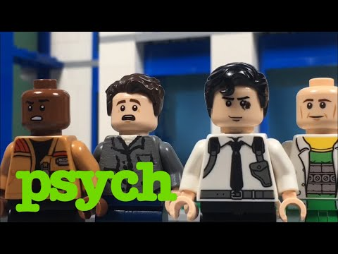 LEGO Psych - Last Night Gus