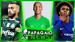 Deyverson de saída do Verdão | Lucas Lima vai ter + OPORTUNIDADES | Willian falou do Palmeiras e+