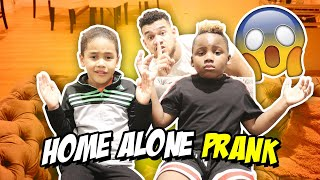 HOME ALONE PRANK ON MICAH AND DJ PANTON