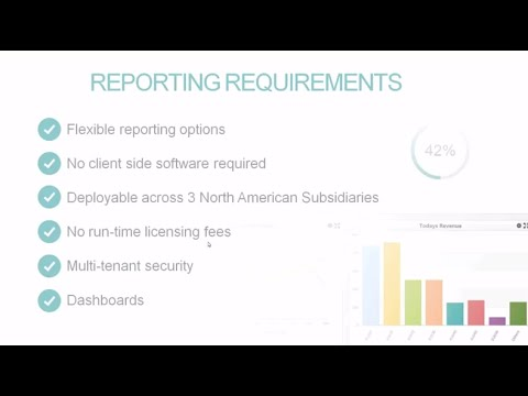 Custom, self-service reporting over the Friedman Frontier ERP system