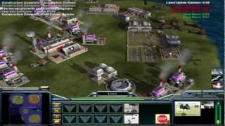 C&C Generals Shockwave 1.1 Multiplayer Game Townes Vs Kassad 1/3 [HD]