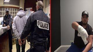 LE VOLEUR DU SCOOTER REVIENT LA POLICE ARRIVE thumbnail
