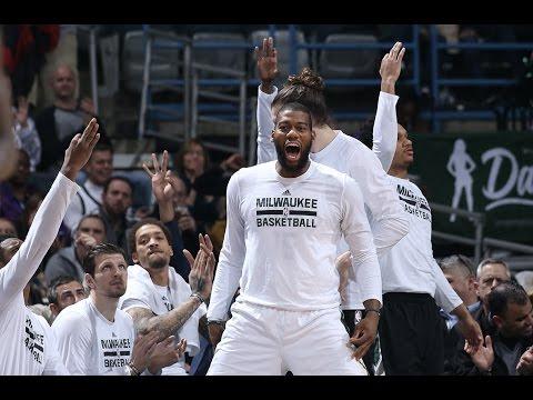 Highlights: Bucks 108 - Pistons 105   3.31.17