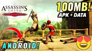 [100-MB] Assassin's Creed Altairs Chronicles APK+DATA Download Android | With Gameplay | Hindi