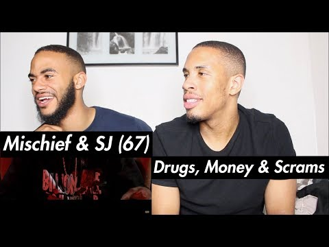 Mischief & SJ (67) - Drugs, Money & Scrams [Music Video] | GRM Daily - REACTION!