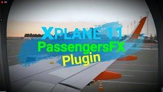 Xplane-11 ✈ PassengersFX FREE Plugin