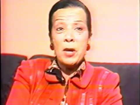 Leda Nagle entrevista Elizeth Cardoso no Jornal Hoje - parte 1 de 2