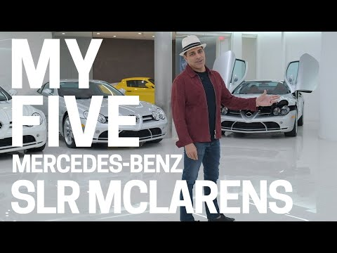 My 5 (yes.. FIVE!) Mercedes-Benz SLR McLarens  - Why I Love Them and Why I Keep Buying More!