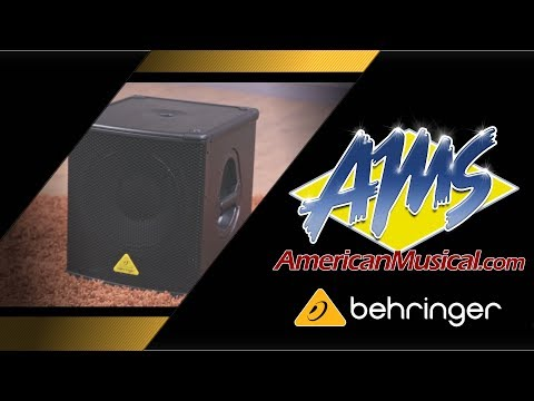 Behringer Eurolive B1200D Pro Overview - American Musical Supply