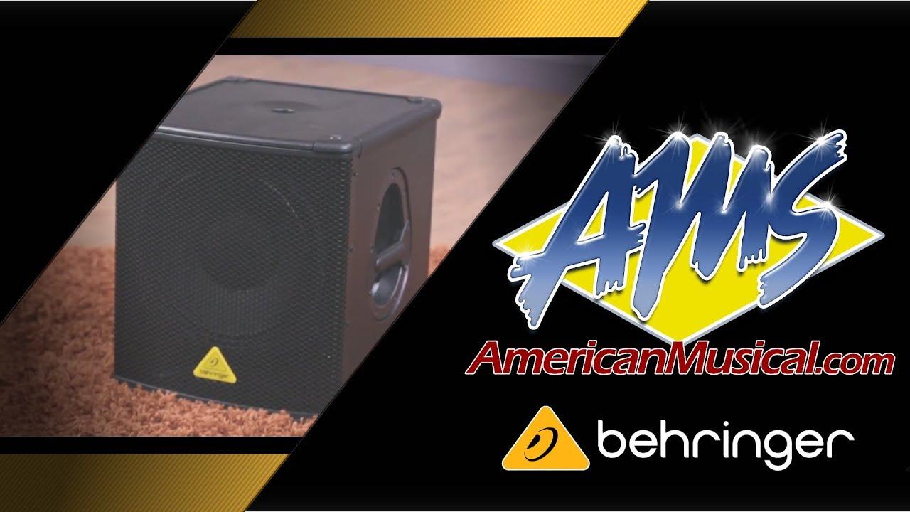 behringer eurolive b1200d pro overview american musical supply youtube. Black Bedroom Furniture Sets. Home Design Ideas