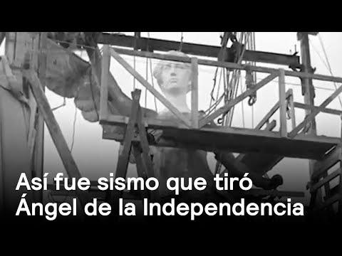 Imágenes de cuando el Ángel de la Independencia se cayó - En Punto con Denise Maerker