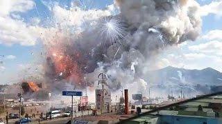 Massive Fireworks Explosion Kills Dozens