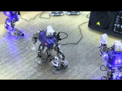Робот-танцор, танцующий робот