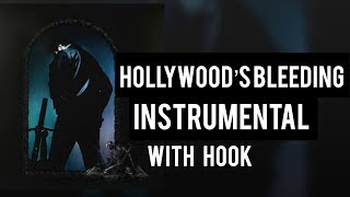 Post Malone - Hollywood's Bleeding (Instrumental with Hook) BEST ON YOUTUBE