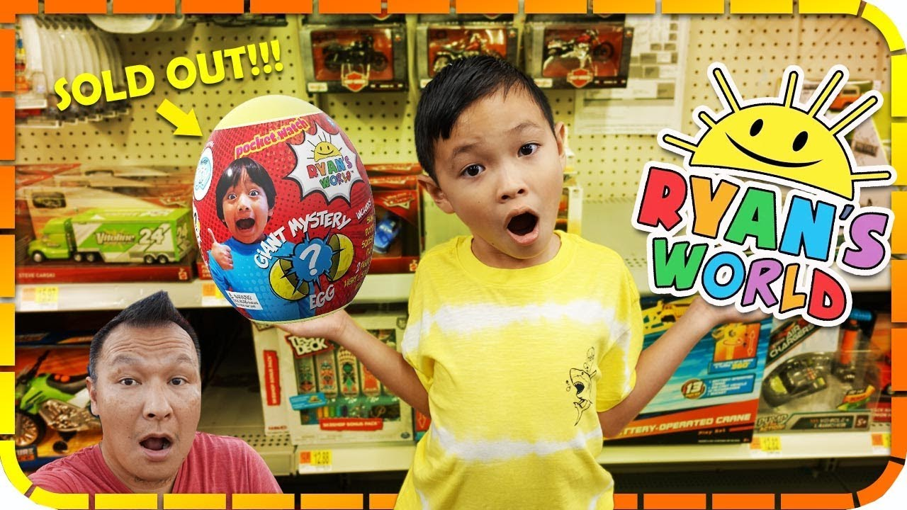Tiger S Family Toy Hunt For Ryan S World Toys At Walmart