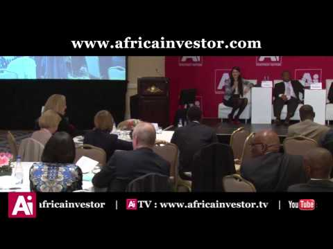 Eleni Giokos, Financial Journalist, Bloomberg Africa, at the Ai Project Developers Summit 2015