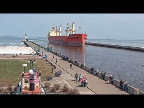 Edwin H Gott and Federal Barents arrived Duluth 4/25/19