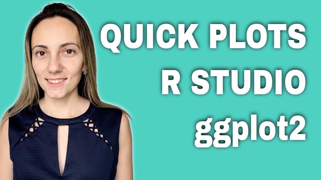 Quick Plots - R Studio (ggplot2)