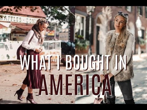 WHAT I BOUGHT IN AMERICA // U.S Fashion and Beauty Haul // Fashion Mumblr