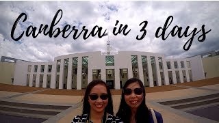 CANBERRA in 3 days