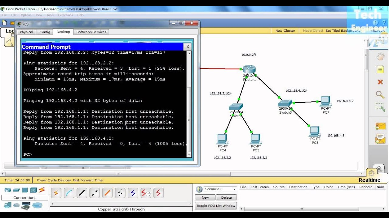 How to configure a local network