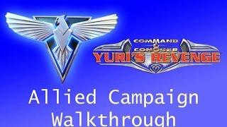 red alert 2: Yuri's revenge Прохождение  На Луну (СССР Высокая сложность)  #13