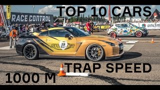 TOP-10: Fastest cars 2014 on 1000 m., SPEED (part 1)