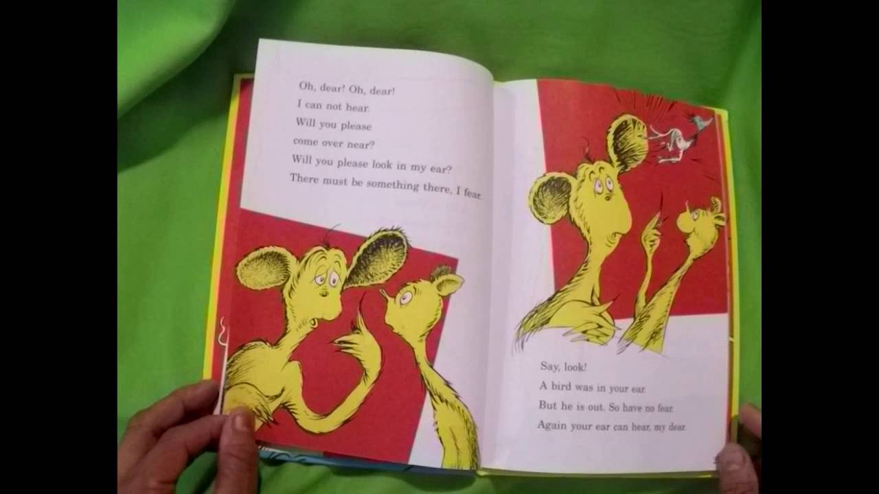 """Read to the Kids """"Dr. Seuss\'s – One Fish Two Fish Red Fish Blue Fish ..."""