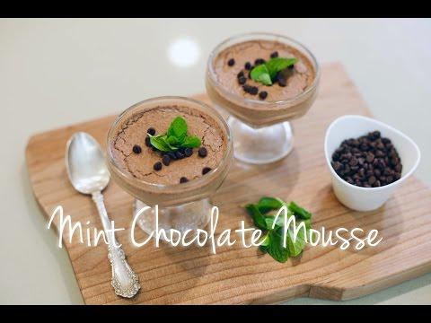 Quick & Easy Vegan Recipes with Daniella Monet  Mint Chocolate Mousse
