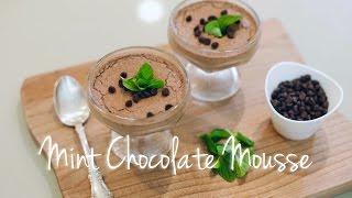 Quick & Easy Vegan Recipes with Daniella Monet // Mint Chocolate Mousse