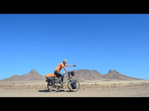 Cycling Namibia - Part 1 (North) : From the Kunene to Windhoek