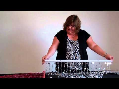 How To Hang a Beaded Curtain - ShopWildThings Video Time Wit