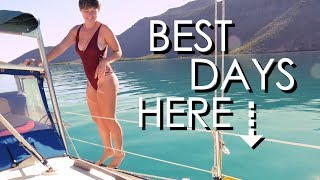 YOUNG COUPLE living in a SAILBOAT in MEXICO - Walde Sailing ep.103
