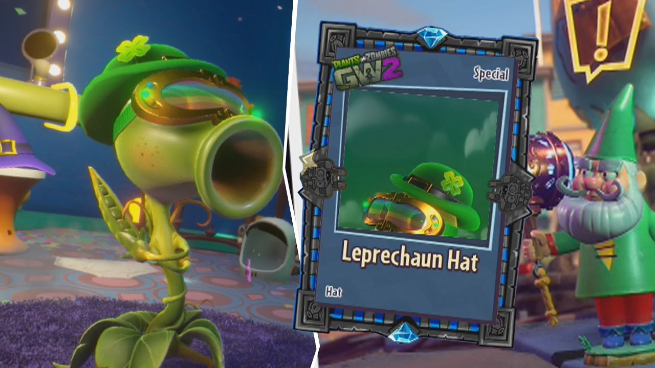 Luck o 39 the zombies event plants vs zombies garden warfare 2 youtube Plants vs zombies garden warfare 2 event calendar