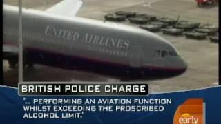 Drunk Pilot Arrested