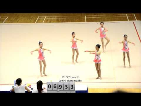 National School Rhythmic Gymnastics 2016 Pri C Level 2 Group