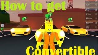 Roblox Jailbreak - How to Get the Convertible Porsche