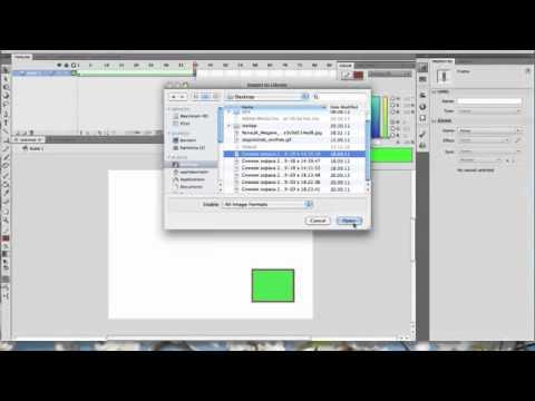 урок по созданию простейшей анимации в программе macromedia flash 8