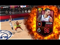 NBA LIVE MOBILE   96 STEPHEN CURRY IS A CHEAT CODE! MOBILE MARCH MADNESS LEGEND OF MARCH GAMEPLAY