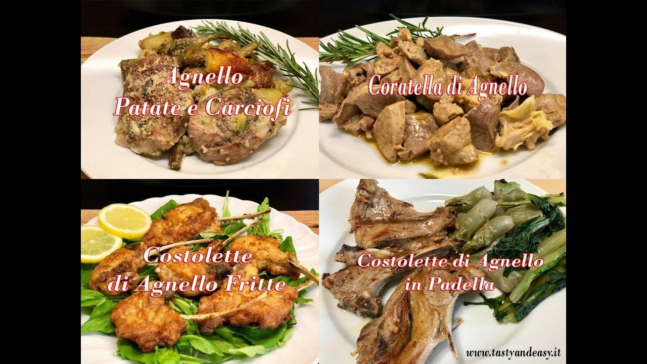 4 Idee per Cucinare l\'Agnello a Pasqua - YouTube