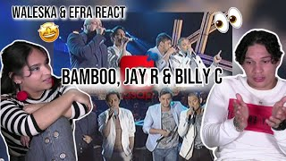 """Download Waleska & Efra react to Bamboo Jay R & Billy Crawford's live cover of Ed Sheeran """"Lego House"""""""