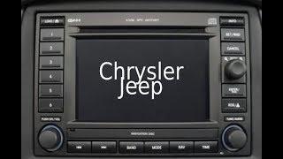 Chrysler Radio Navi Reparatur RB3 M300 / 300C / 300 CRD / BZ9CY210 u.a.