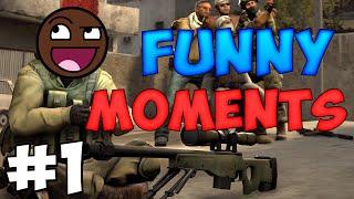CS:GO Funny Moments #1 When Idiots Play